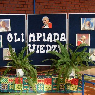 Olimpiada Wiedzy o Janie Pawle II