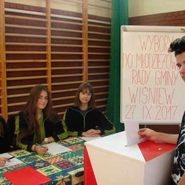 Wybory do Młodzieżowej Rady  Gminy