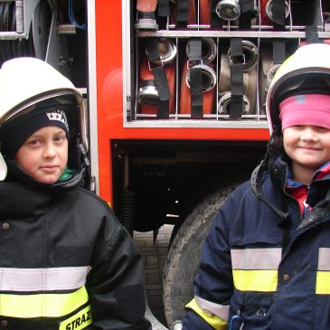 Spotkanie ze strażakami