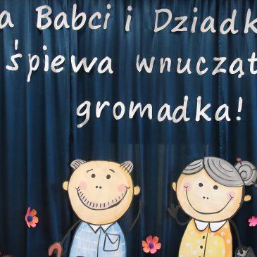Dzień Babci i Dziadka w oddziale przedszkolnym