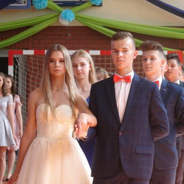 Bal absolwentów gimnazjum
