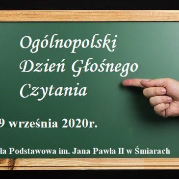 Ogólnopolski Dzień Głośnego Czytania – w hołdzie Św. Janowi Pawłowi II